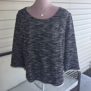 Anthropology W5 top. Size Large.
